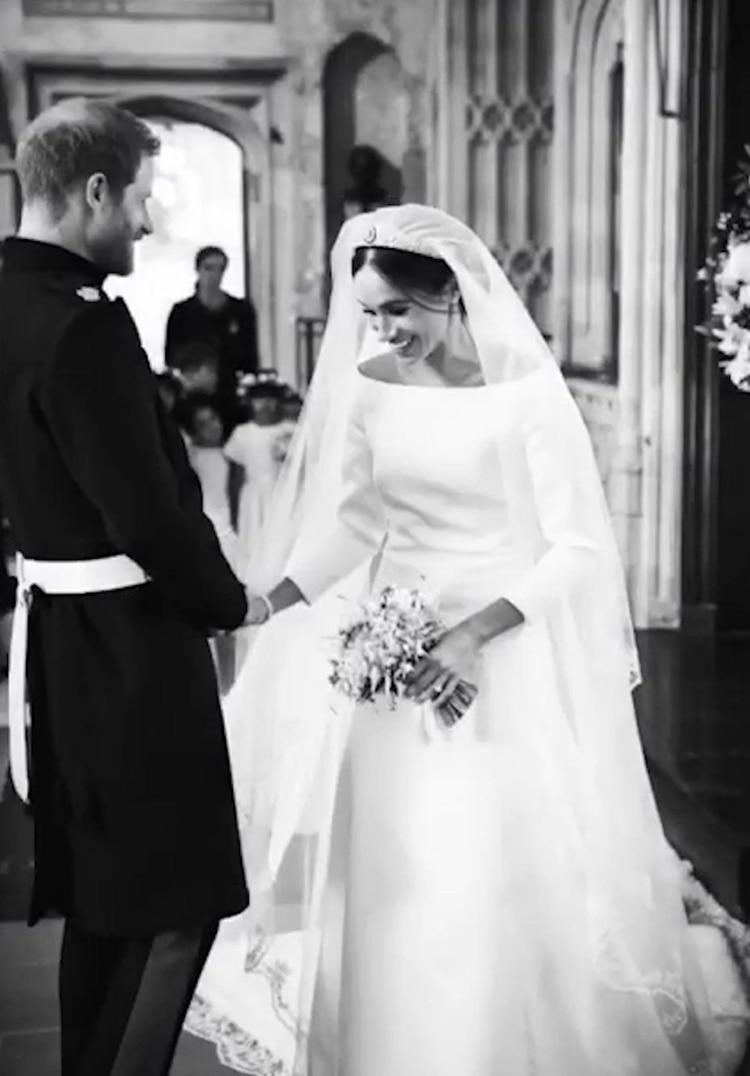 Las imágenes inéditas del casamiento de Meghan Markle y el príncipe Harry