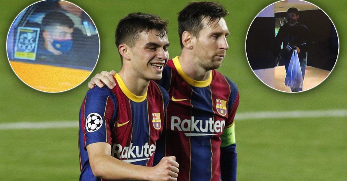 Marcó en la goleada del Barcelona y se transformó en viral por su humildad: llegó con la ropa en una bolsa de nylon y se fue en taxi   - Infobae