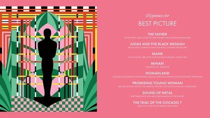 Los nominados para la categoría mejor película