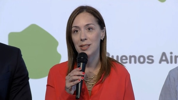 La gobernadora bonaerense fue una de las primeras en imitar la decisión de Macri
