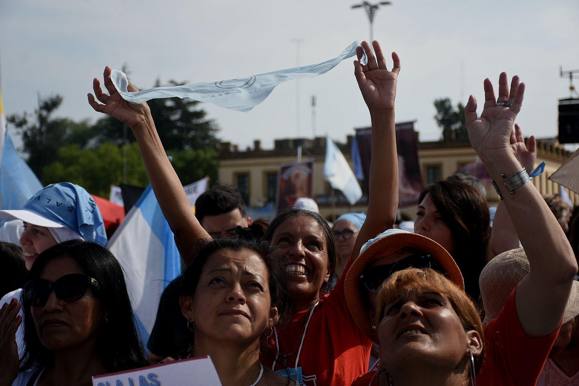 Misa en Luján por las Mujeres y por la Vida y en rechazo al proyecto de legalización del aborto - 8 de Marzo