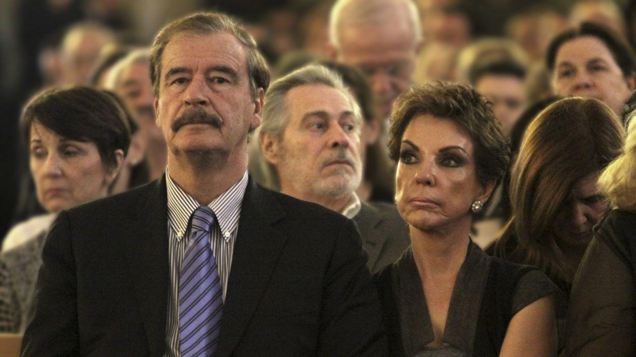 Vicente Fox y Martha Sahagún
