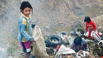 La pobreza infantil es del 62,9% según UNICEF