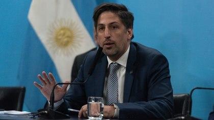 El ministro de Educación Nicolás Trotta (Adrián Escándar)