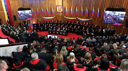 El TSJ chavista acusó a EEUU de querer propiciar un golpe de Estado en Venezuela