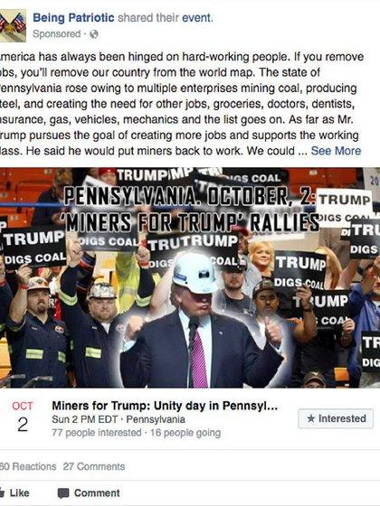 El fenómeno de la re-tribalización que producen las redes sociales fue explotado porInternet Research Agency, grupo cercano al Kremlin, durante las elecciones presidenciales de EEUU.