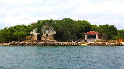 Isla Grande, dans les îles Rosario.  Photo: Colprensa / El Universal