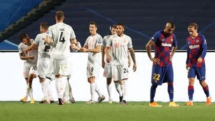 El Barcelona perdió por 8-2 en cuartos de final contra el Bayern - REUTERS/Rafael Marchante/Pool