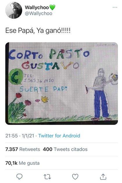 Este es el tuit que se hizo viral