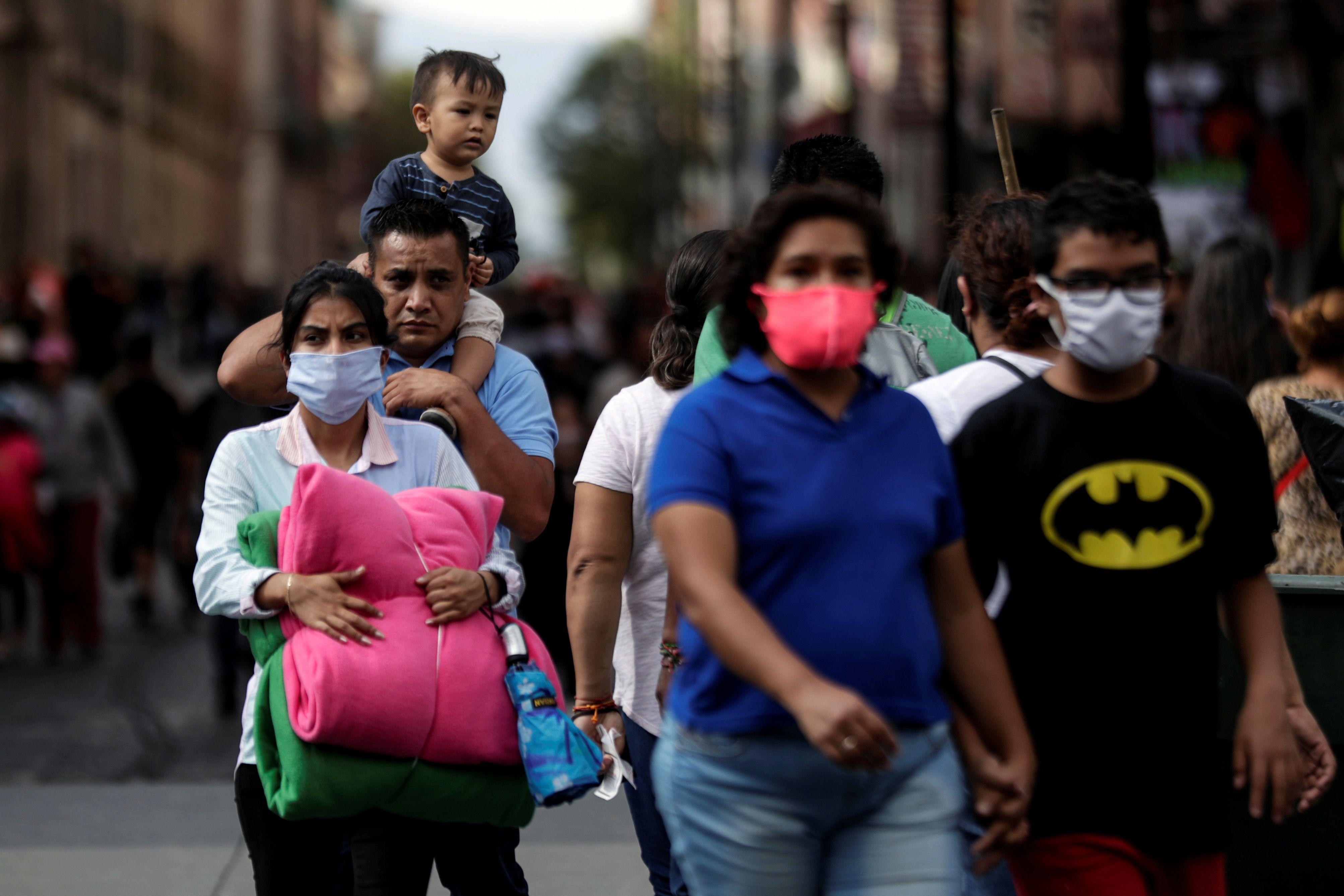 La epidemia de coronavirus sigue adelante en México (Foto: Henry Romero/ Reuters)