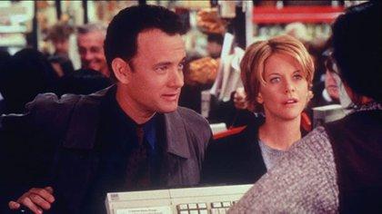 Tom Hanks y Meg Ryan
