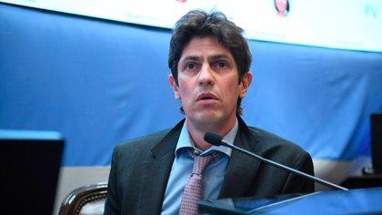 El senador nacional Martín Lousteau