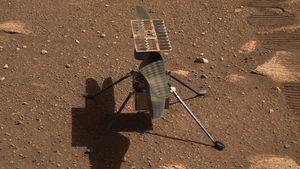 La NASA hará volar el helicóptero Ingenuity en Marte mañana a la madrugada