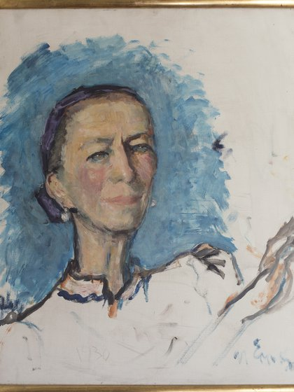 Margit Eppinger Weisz. Autoretrato.