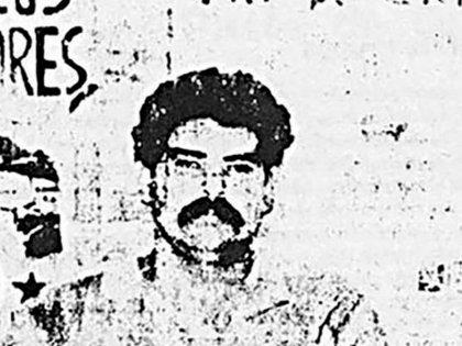 El Oso Rainer, en una foto que distribuyó el ERP cuando fue capturado y ejecutado