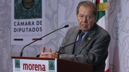 """""""El poder contra las mujeres"""": Porfirio Muñoz Ledo denunció violencia de género parlamentaria (Foto: Cuartoscuro)"""
