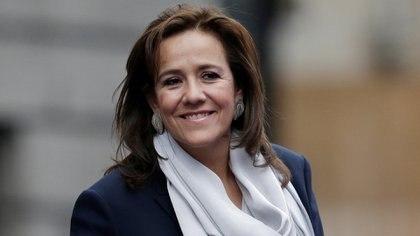 Margarita Zavala apoya al INE en la propuesta contra los plurinominales (Foto: Reuters / Henry Romero)