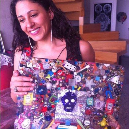 """Amanda de la Rosa se define en Instagram como una """"artivista"""" (IG: amandadelarosa360)"""
