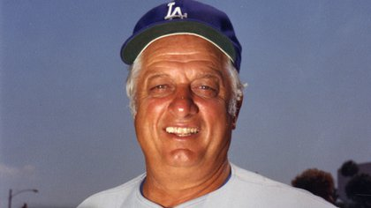 Tommy Lasorda died at the age of 93.  (Photo: Twitter @ baseballhall)