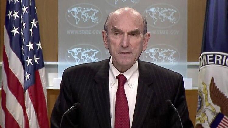 El representante especial del gobierno de Estados Unidos para Venezuela, Elliot Abrams