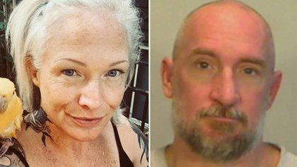 Lauren Jenai y su futuro marido, Franklin Tyrone Tucker, acusado de asesinato