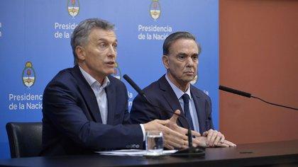 Macri y Pichetto están convencidos de que hay que reforzar el mensaje por la seguridad (Gustavo Gavotti)