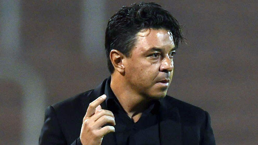 Gallardo dispondrá un equipo alternativo para este viernes de cara a la revancha contra Boca (Foto Baires)