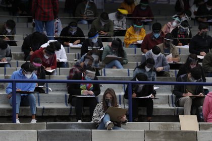 La medida será aprobada por la Comisión de Trabajo Académico del Consejo Universitario en los próximos días. (Foto: Rebecca Blackwell/AP)