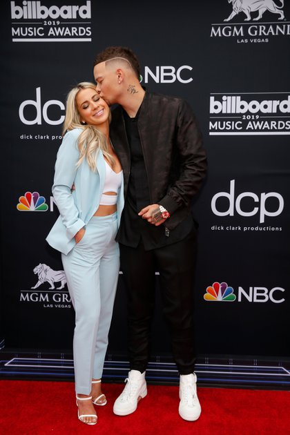 Katelyn Jae y Kane Brown (REUTERS/Steve Marcus)
