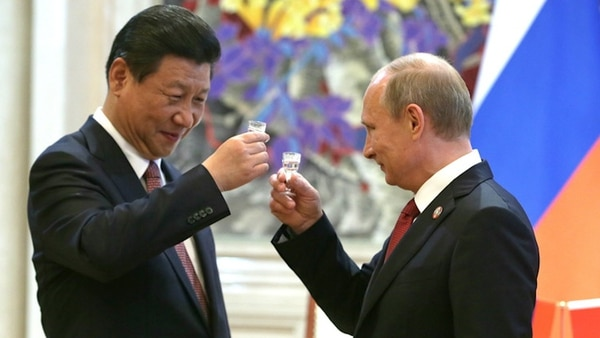 Xi Jinping y Vladimir Putin