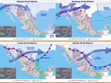 Foto: (Sistema Meteorológico Nacional)