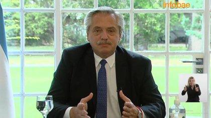 Alberto Fernández encabeza el acto por el Día de la Construcción