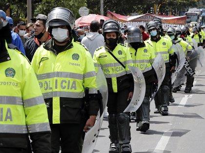 """La disminución de delitos en el 2020 puede ser tomada como un """"laboratorio"""" para entender el crimen a nivel local, según Probogotá. EFE/Mauricio Dueñas Castañeda/Archivo"""
