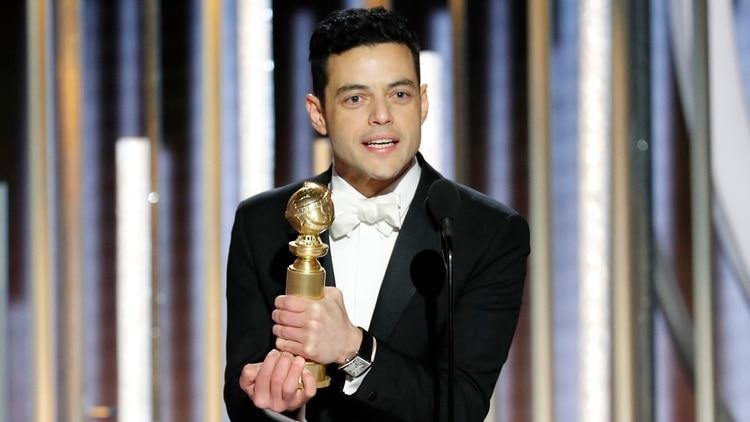 """Rami Malek ganador a mejor actor en drama por su trabajo en """"Bohemian Rhapsody"""" (Paul Drinkwater/NBC Universal/Handout vía REUTERS)"""