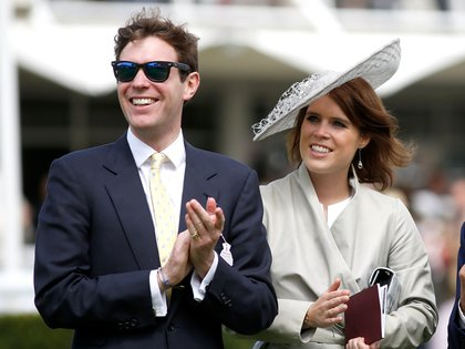La princesa Eugenia y Jack Brooksbank