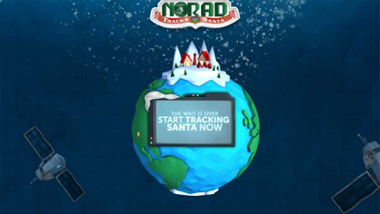 El sitio ofrece la posibilida de rastrear los pasos de Santa Claus