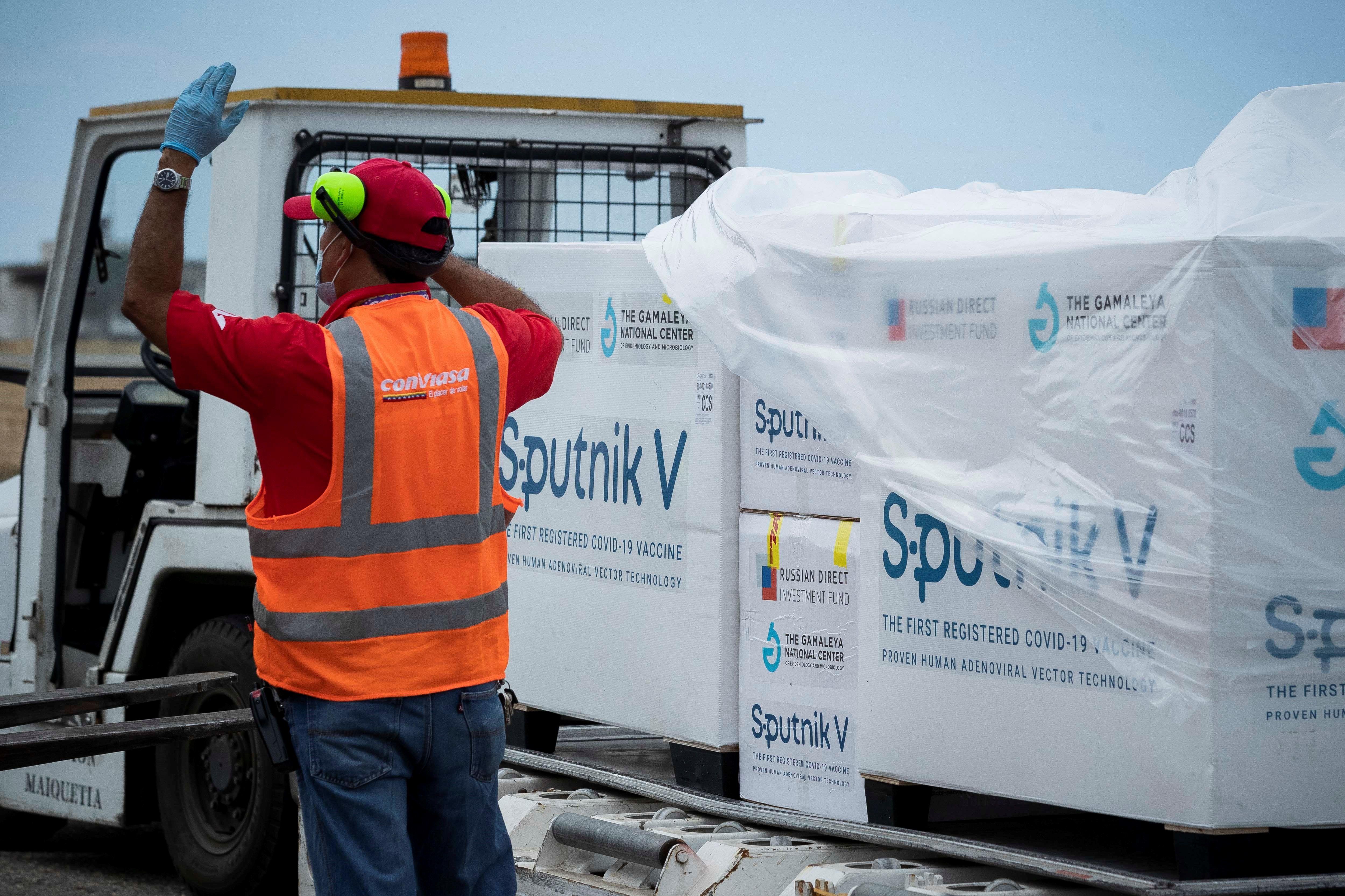 Las primeras dosis de Sputnik V llegaron a la Argentina a fines de diciembre - EFE/ Rayner Peña R/Archivo