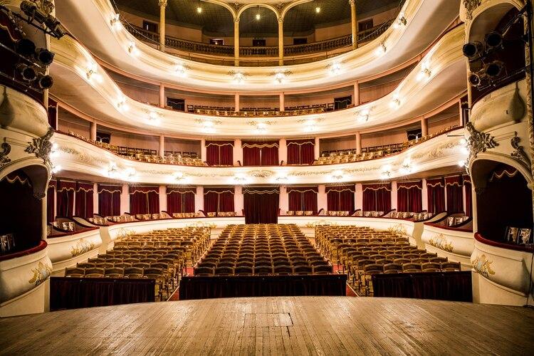 Teatro Municipal Rafael de Aguiar de San Nicolás