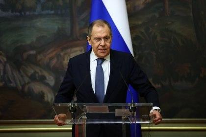 El ministro ruso de Exteriores, Sergei Lavrov. Russian Foreign Ministry/Handout via REUTERS