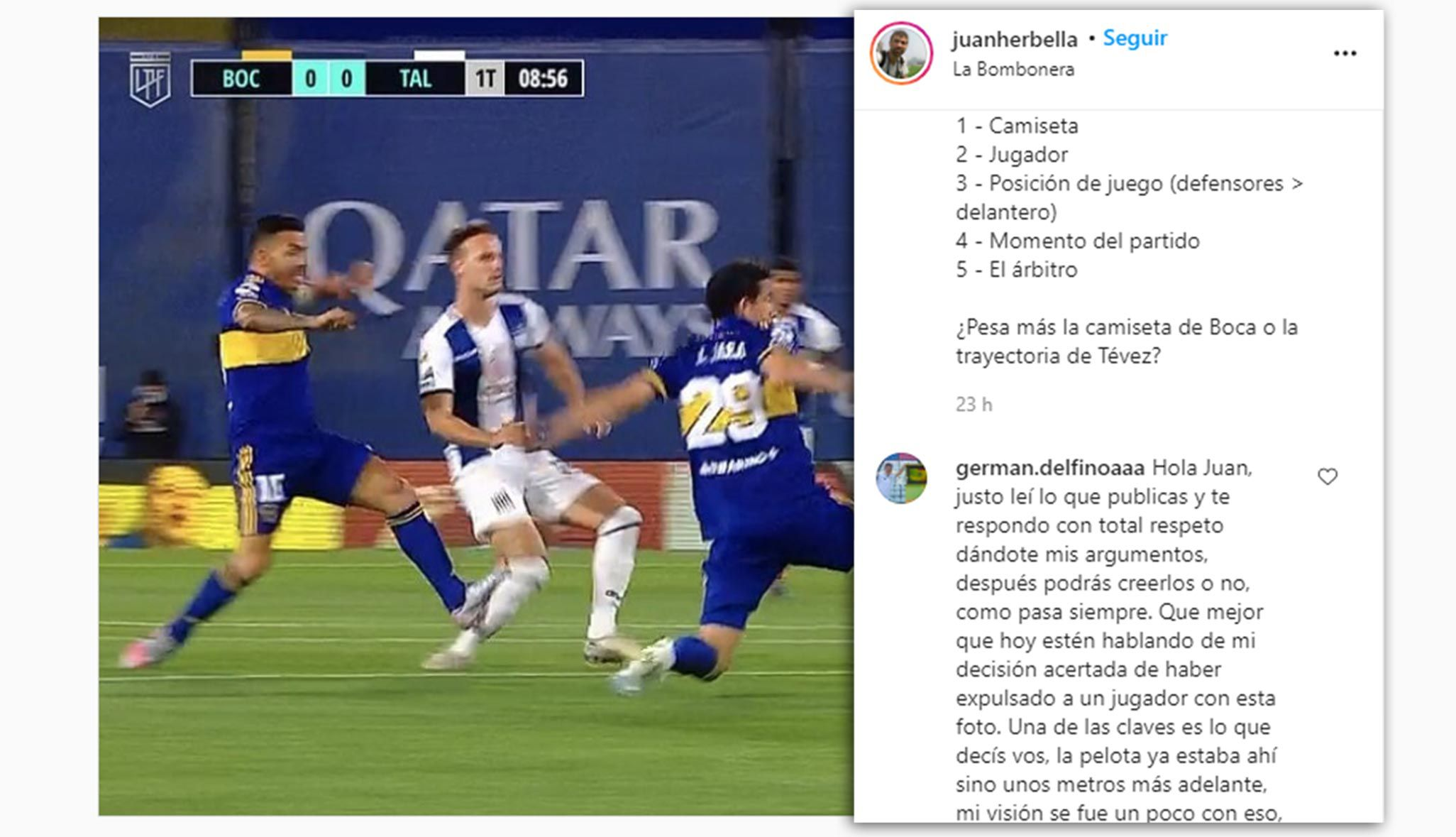 Juan herbella - tevez - delfino 1920 sf  captura instagram
