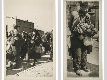 Destinado a hacer retratos para las tarjetas de identificación de las personas en el gueto, Ross tomó de manera clandestina otras 6.000 fotos para documentar la vida allí. (Henryk Ross, Colección Leon Sutton, Cortesía del Museo de Bellas Artes, MFA, de Boston)