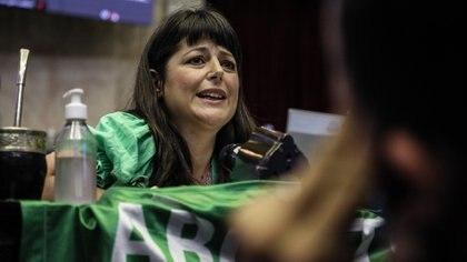 Carolina Gaillard, presidenta de la comisión de Legislación Penal (Prensa Diputados)