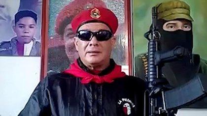 Valentín Santana, líder del colectivo La Piedrita
