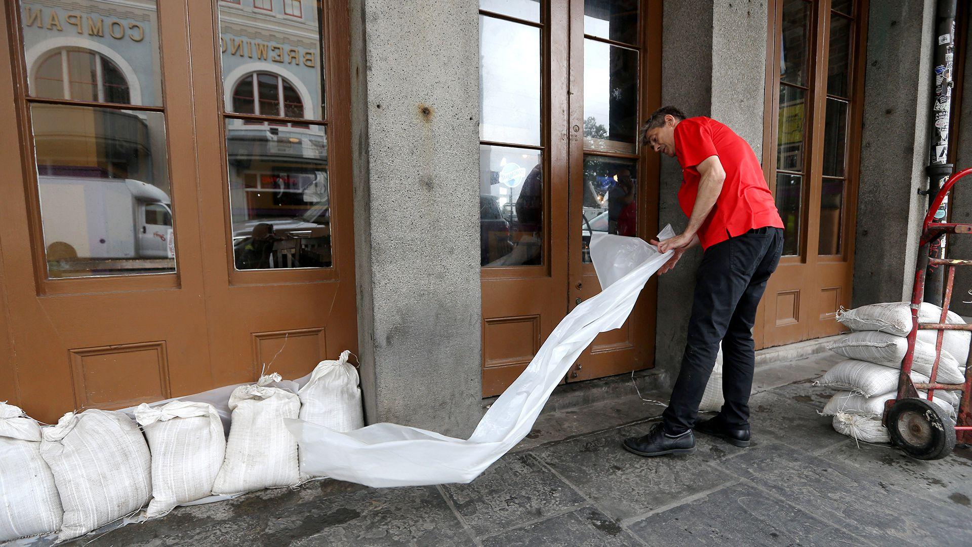 La población de Luisiana se prepara para recibir la tormenta tropical Barry (Reuters)
