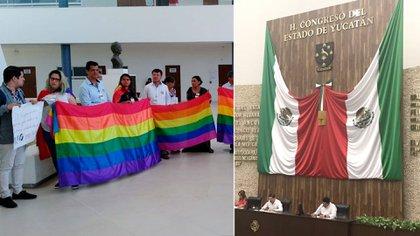 Yucatán rechazó el matrimonio entre personas del mismo sexo (Foto: Twitter @soyhomosensual)