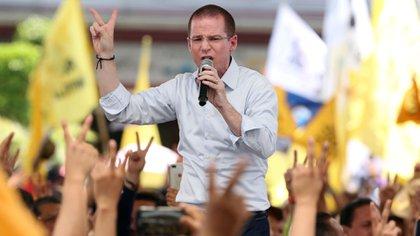 Ricardo Anaya fue acusado por la PGR de lavar dinero  (Foto: Reuters / Gustavo Graf)