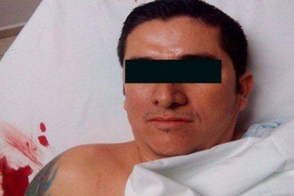 Luego de un accidente vial, Elvis González valencia fue detenido.