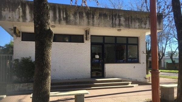 La oficina del Correo donde ocurrió el asalto.