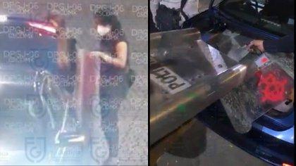 Hombres armados detenidos en manifestación del 8M serían escoltas de Ana Katiria, defensora de los DDHH (Foto: Fiscalía General de Justicia CDMX)
