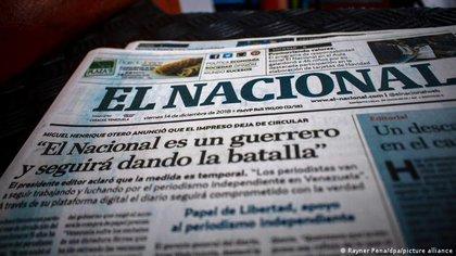 """EEUU rechazó el embargo del régimen de Maduro contra el diario El Nacional: """"No es la toma de un edificio, es una violación a la libertad de prensa"""""""